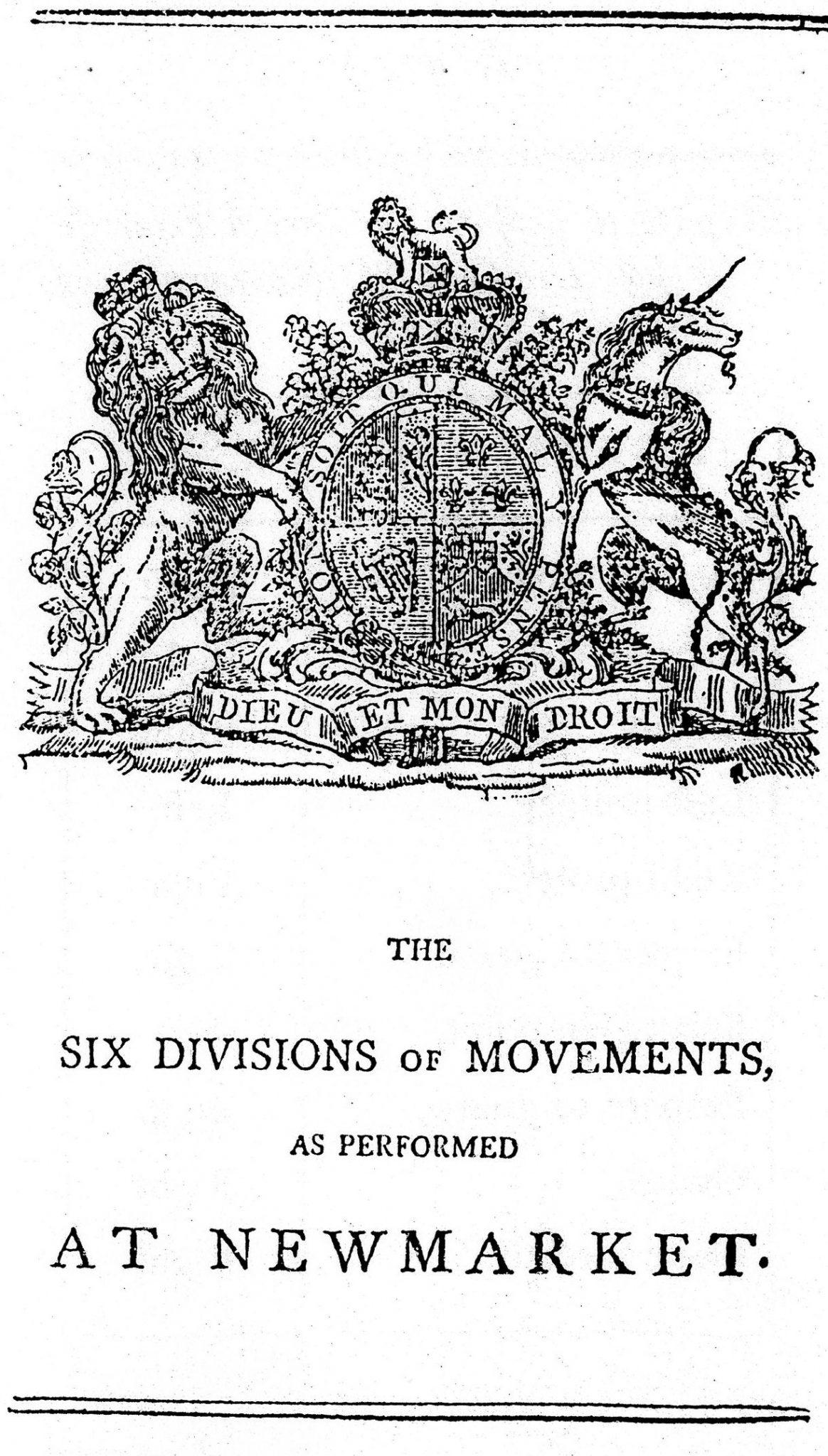An Abridgement of the New Broad Sword Exercize, London, 1797 3