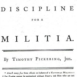 Pickering's Plan for the Discipline of the Militia, by Thomas Pickering