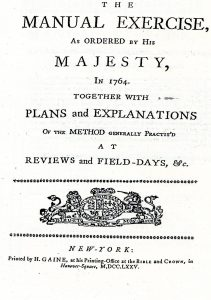 The Manual Exercise of 1764