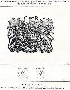 The Regulations of 1757, New York, 1757