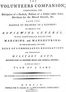 The Volunteers Companion, 1784