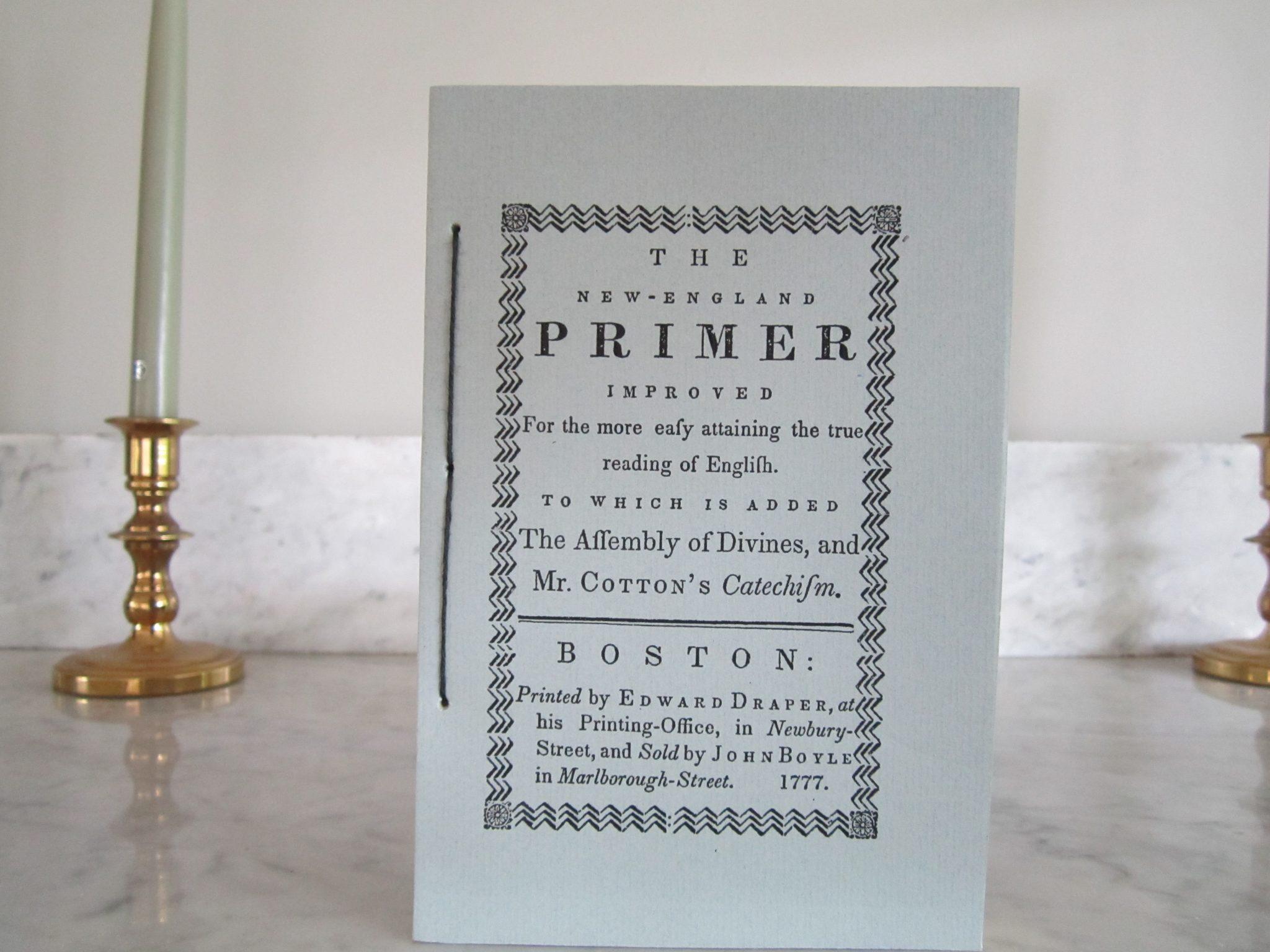 The New England Primer 1