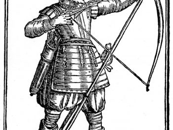 The Double-Armed Man, by the new Invention: briefly shewing some famous Exploits atchieved by our Brittish Bowmen: with severall Portraitures proper for the Pike and Bow.